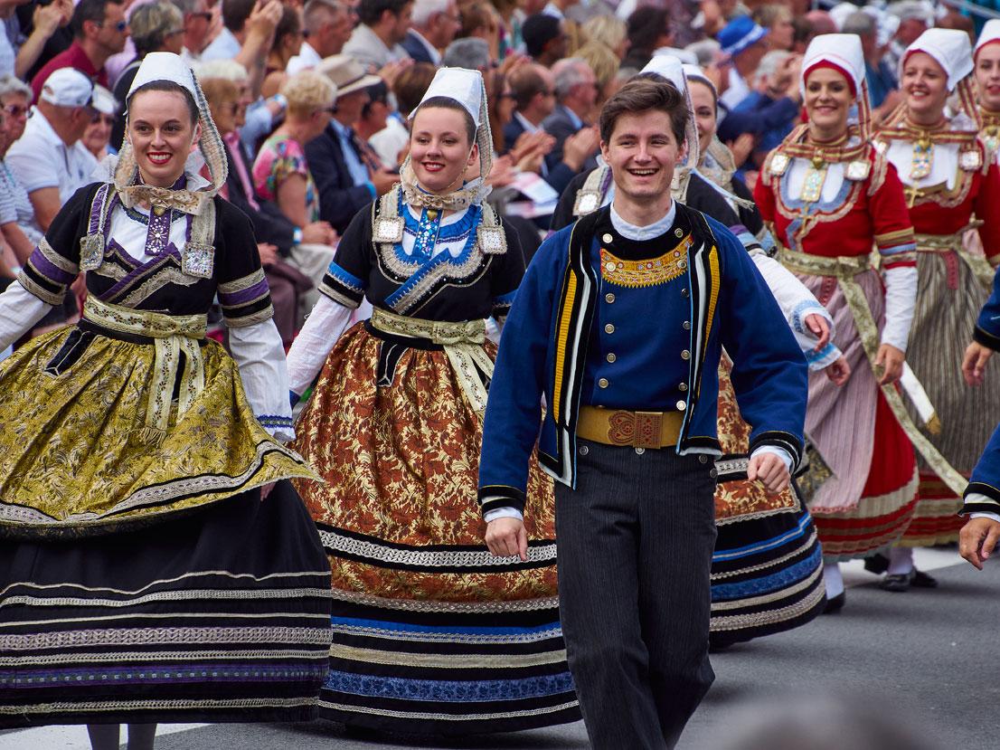 Festival de Cornouaille à Quimper