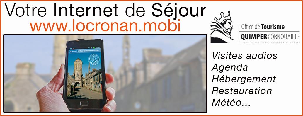 Locronan.mobi, indispensable et gratuit, toute l'information pour ne rien manquer de Locronan