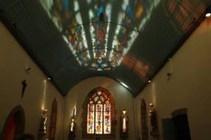 Intérieur chapelle Saint Symphorien d'Edern