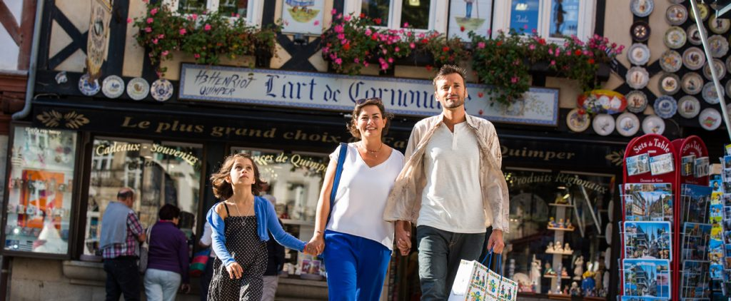 Quimper, capitale du shopping