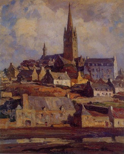 Lionel Floch, vue de Pont Croix