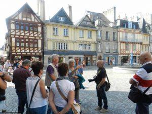 Visite guidée de Quimper par un guide-conférencier de l'office de tourisme