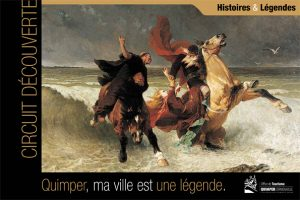 Circuit découverte de Quimper, Finistère, Bretagne, sur le thème des légendes