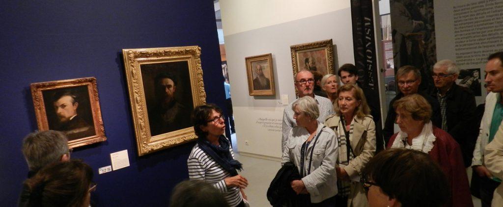 service réceptif - visite guidée spécial groupes, au musée des beaux-arts de Quimper