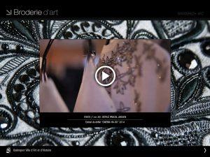 """iMagazine, présentation vidéo du défilé """"Gwen ha du"""" du brodeur styliste Pascal Jaouen"""