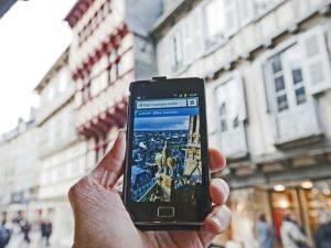 www.quimper.mobi, le ste mobile de l'Office de Tourisme de Quimper Cornouaille