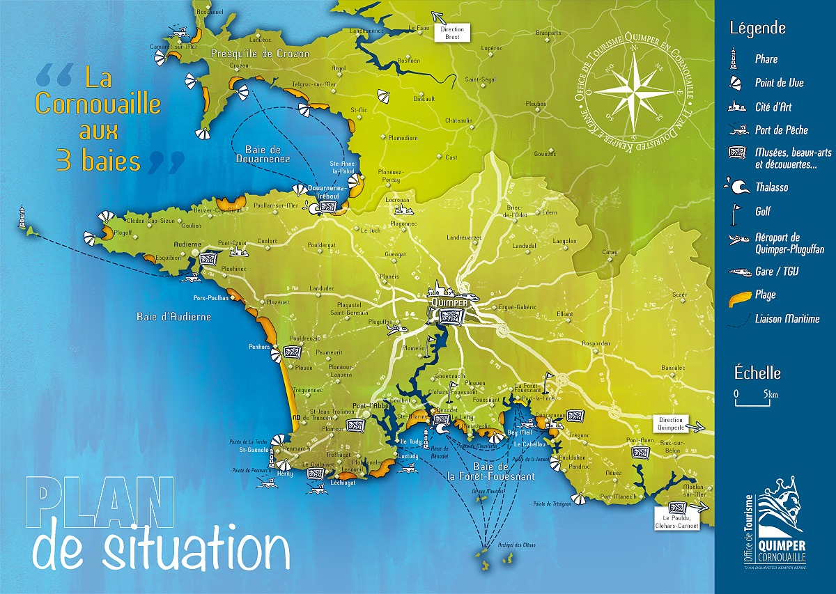 Plan de situation office de tourisme de locronan - Office de tourisme bretagne ...